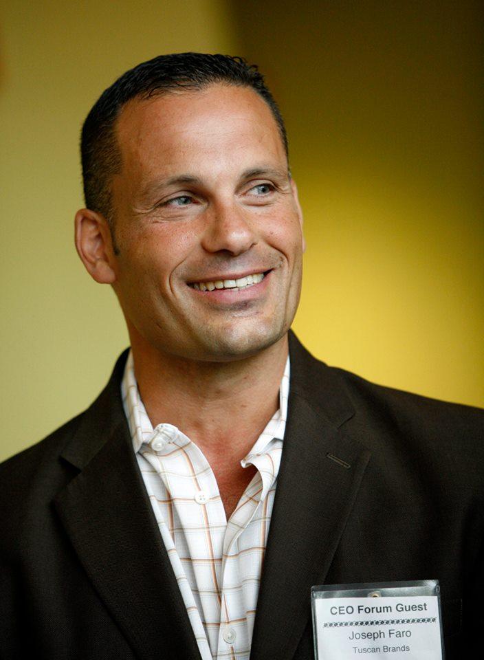 Joseph Faro, CEO & Chief Food Taster
