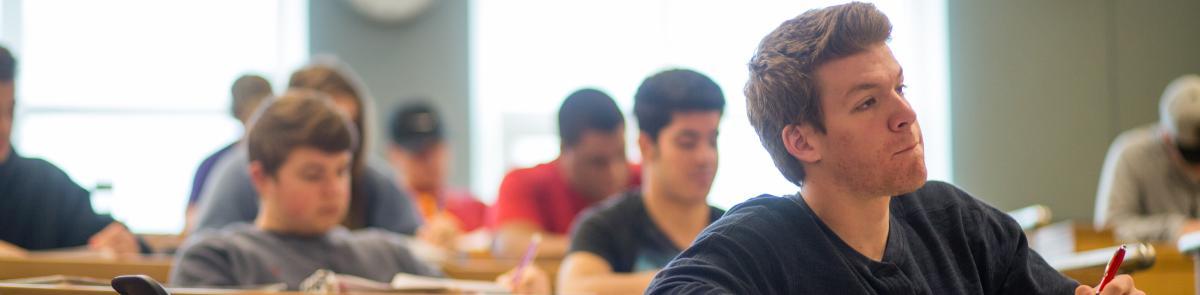 Student in Economics Public Policy Class