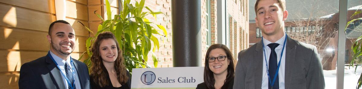 Sales Club Students