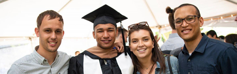 MBA full-time alumni paul college hooding dante