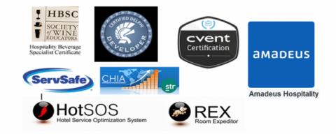 software certification logos