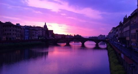 Joseph Brown-Florence, Italy