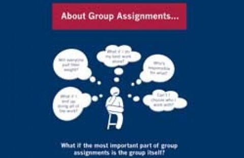 university student group assignment work