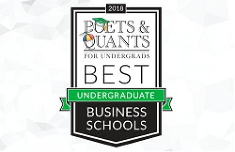 Poets&Quants Rankings logo 2018