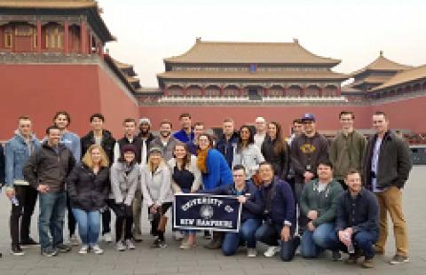 MBA students China Residency
