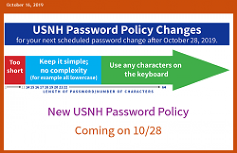 USNH Password policy
