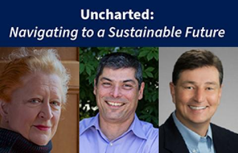 Uncharted: Navigating to a Sustainable Future, Margaret Heffernan
