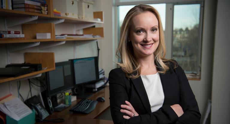 Associate professor of marketing Danielle Brick studies consumer behavior