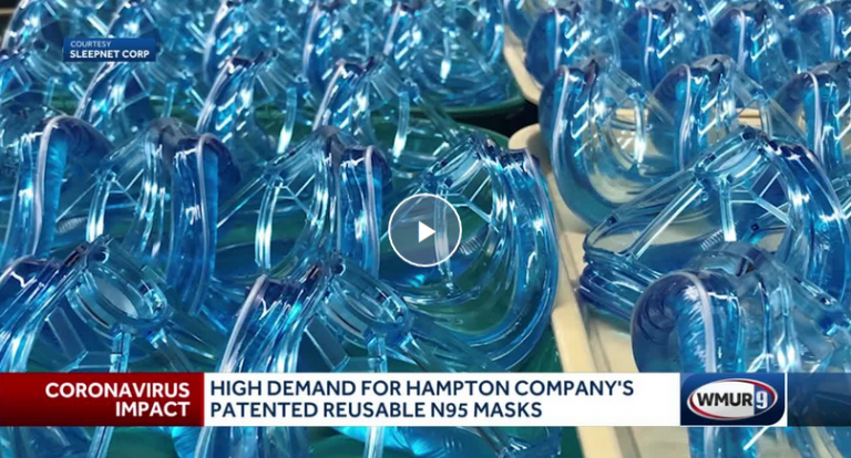 Hampton company is making a reusable version of the N95 masks that health care workers need to safely treat COVID-19 patients