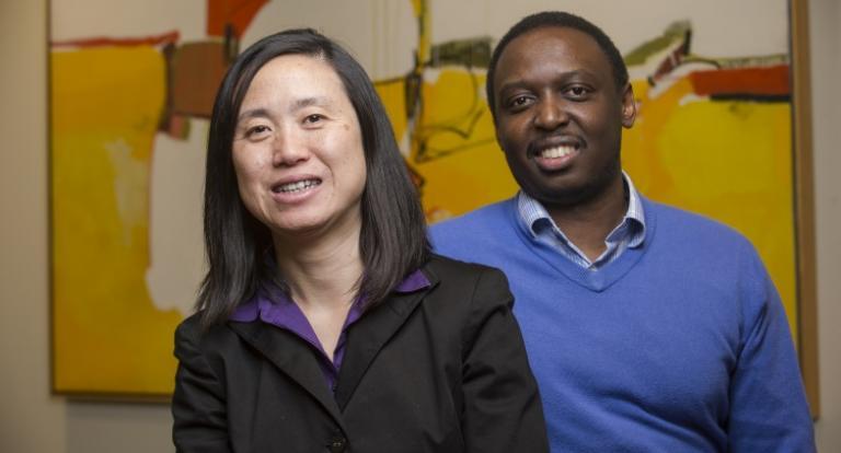 Khole Gwebu and Jing Wang