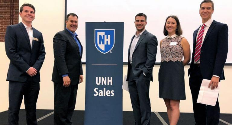Speed Sell Competition UNH Sales Club