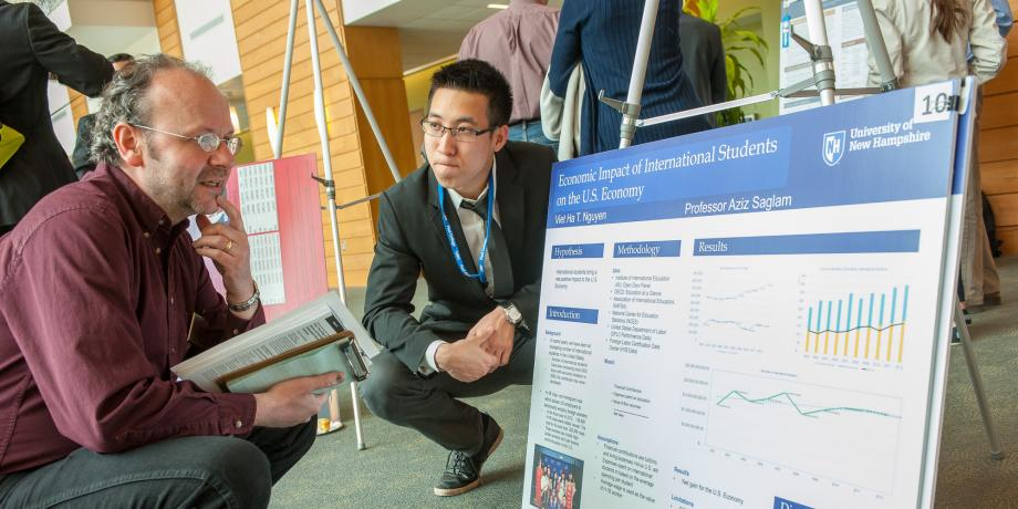 Peter T. Paul College of Business and Economics URC Poster Presentations.