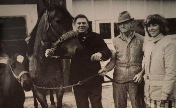 Bill Rosenberg at Wilrose Farms