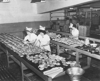 ILS staff making sandwiches