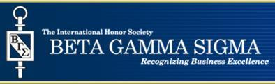 Beta Gamma Sigma header